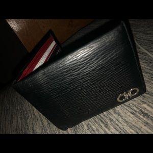 Ferragamo Other - A black and red Ferragamo wallet